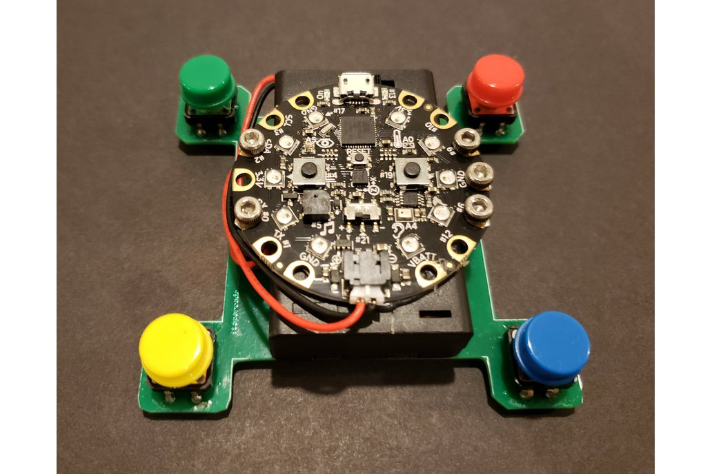 4 Button Game Kit for Circuit Playground Express 1