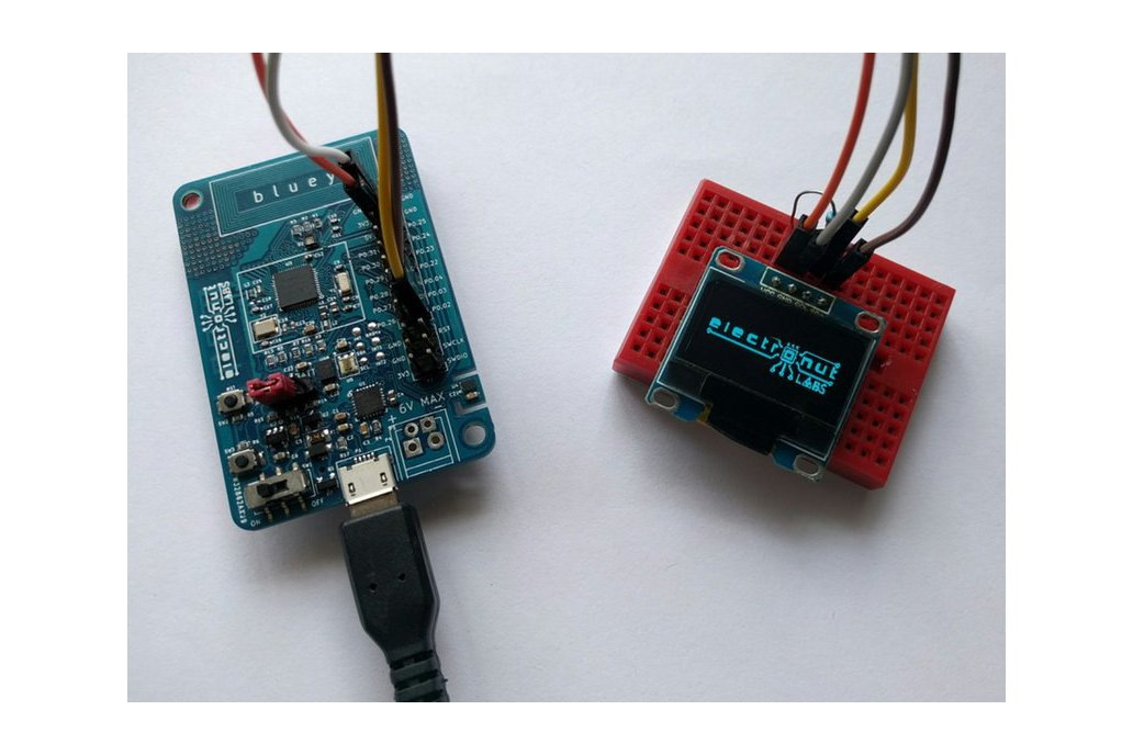 Bluey nRF52832 BLE development board 8