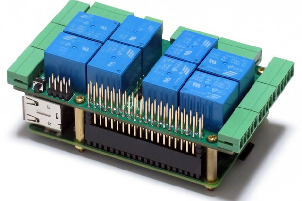 Raspberry Pi Stackable Card for Home Automation