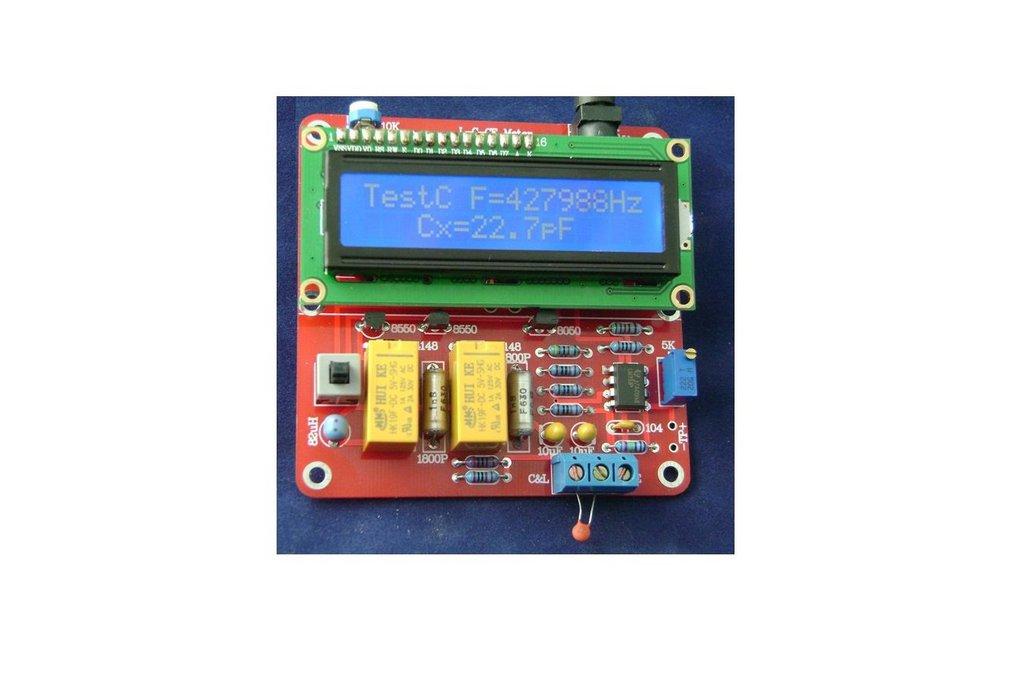 DIY Tester Digital Inductance Capacitance Meterkit 1
