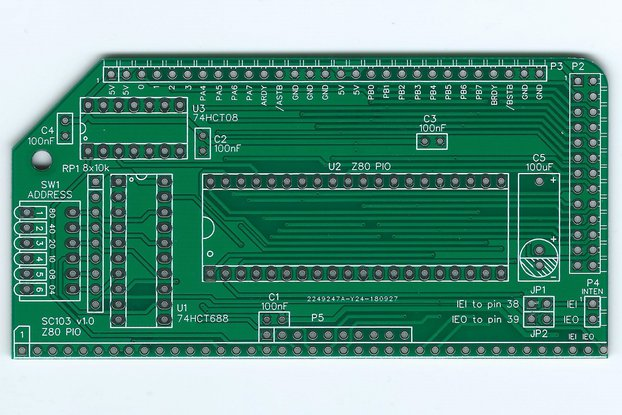 SC103 Z80 PIO Board for RC2014
