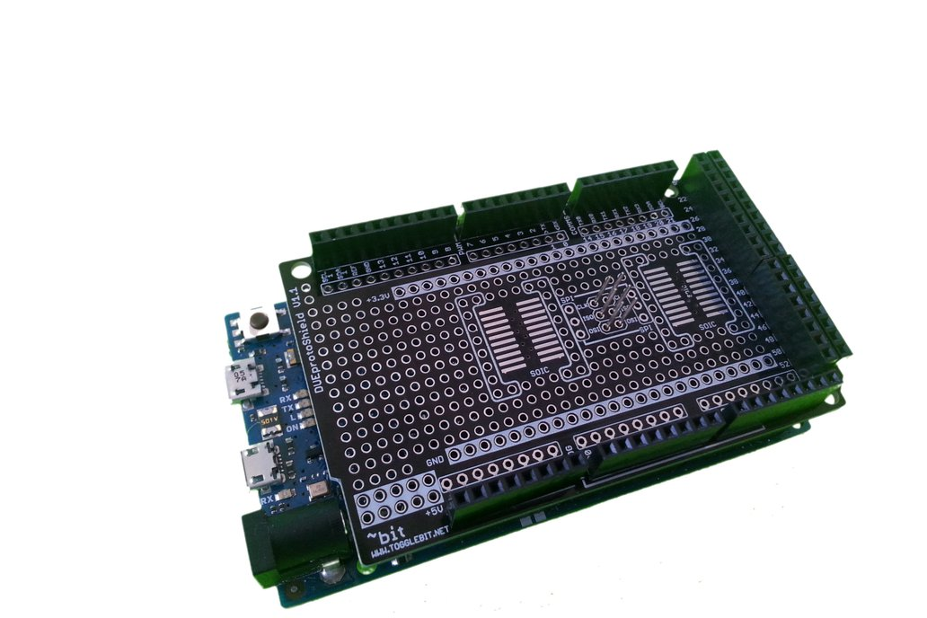 Arduino DUE ProtoShield 1