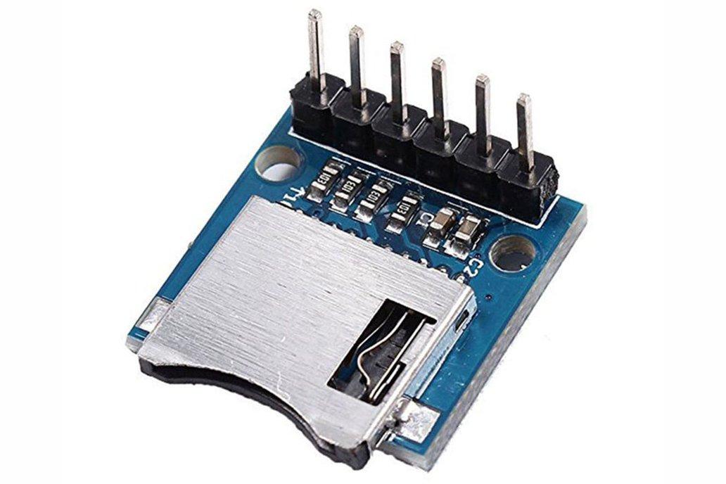 Mini SD Card Module Memory Module for Arduino 2