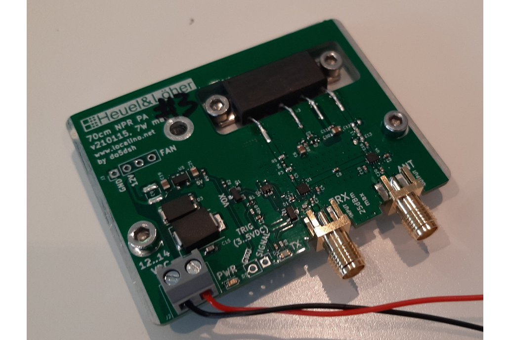 70cm Power Amplifier (PA) for New Packet Radio 1