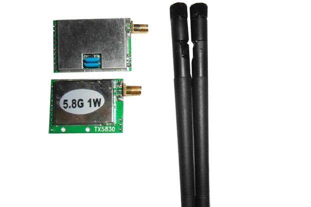 1W 5.8G high power wireless radio module kit