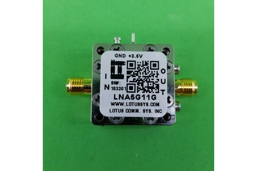Amplifier LNA 1.8dB NF 5GHz to 11GHz 1