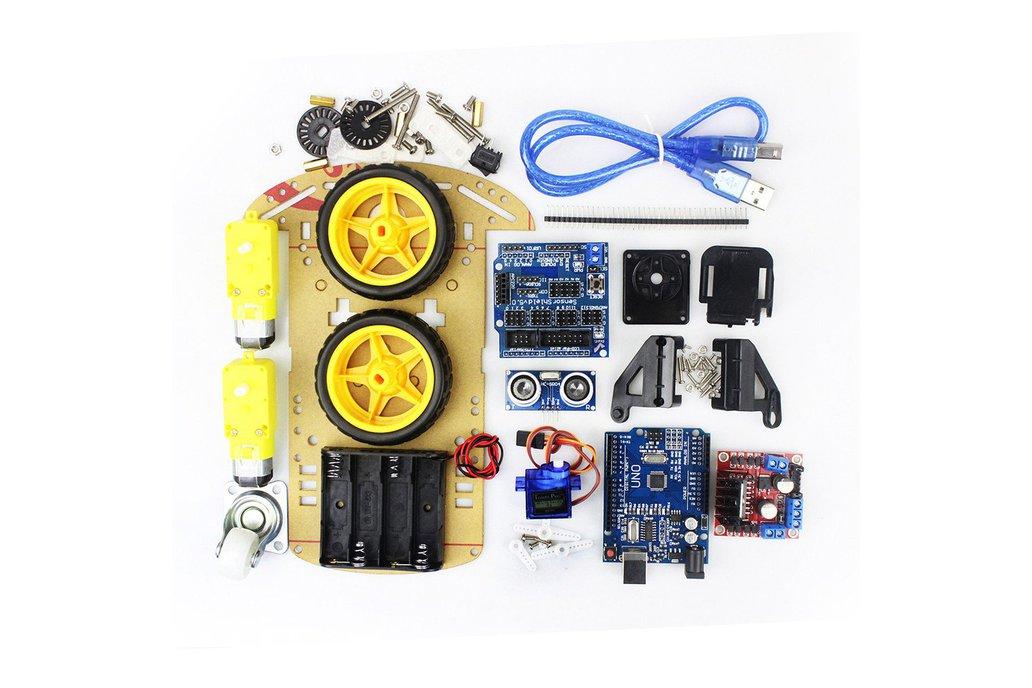 Arduino DIY Smart Robot Car Kit 1