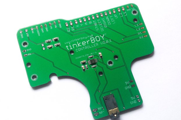 tinkerBOY Controller v2.0.1 for Game Boy Zero