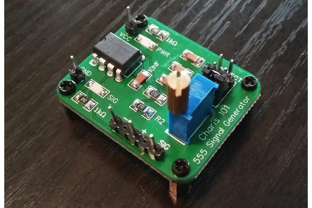 555 square wave generator kit build 1