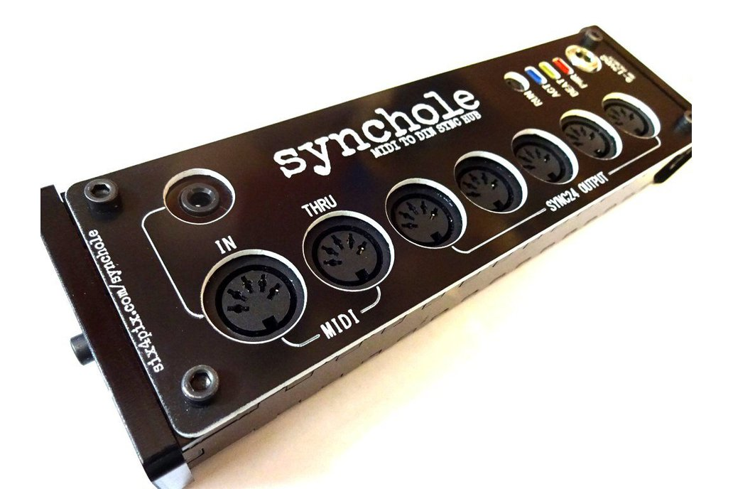 Synchole - MIDI to DIN SYNC box 1