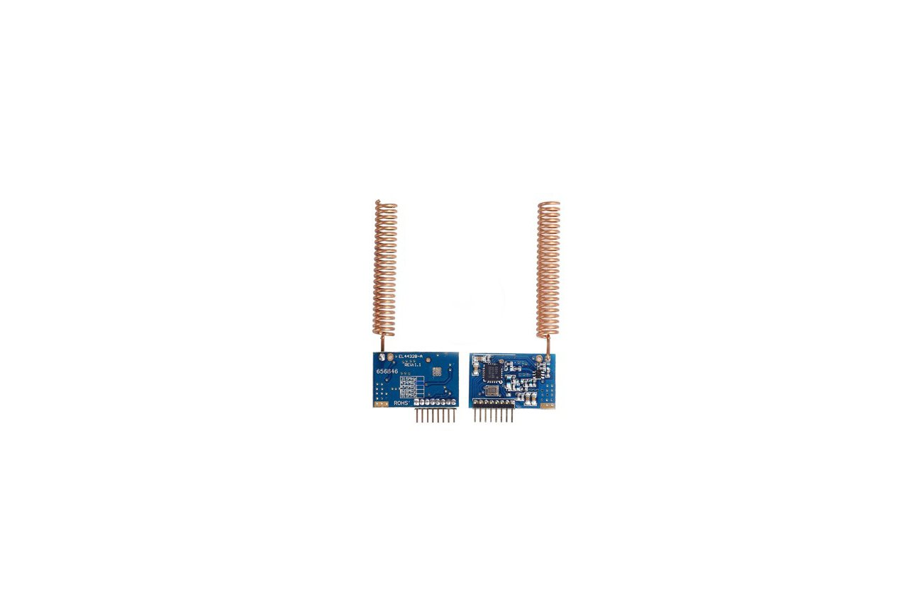 SI4432 wireless with antenna