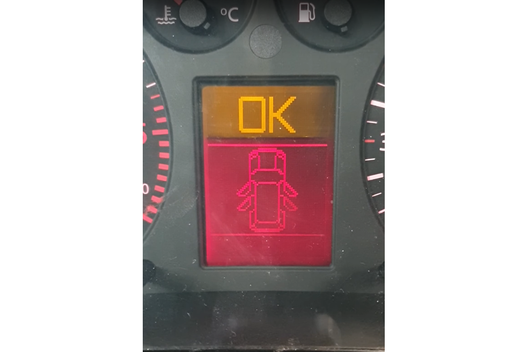 Indicator of opened door for V.A.G. cars 1