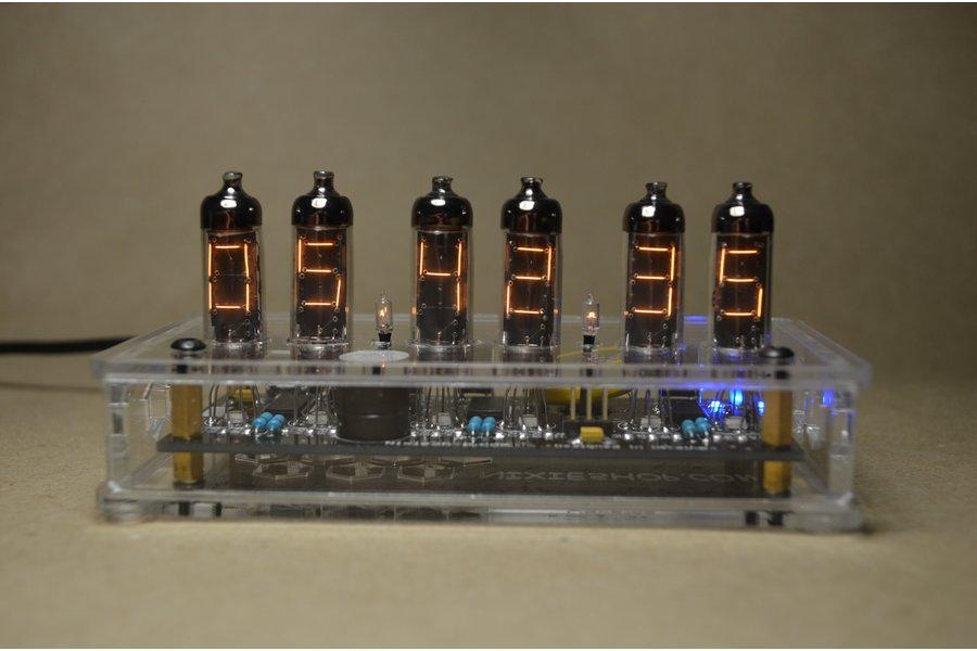 IV-9 Numitron Tube Clock