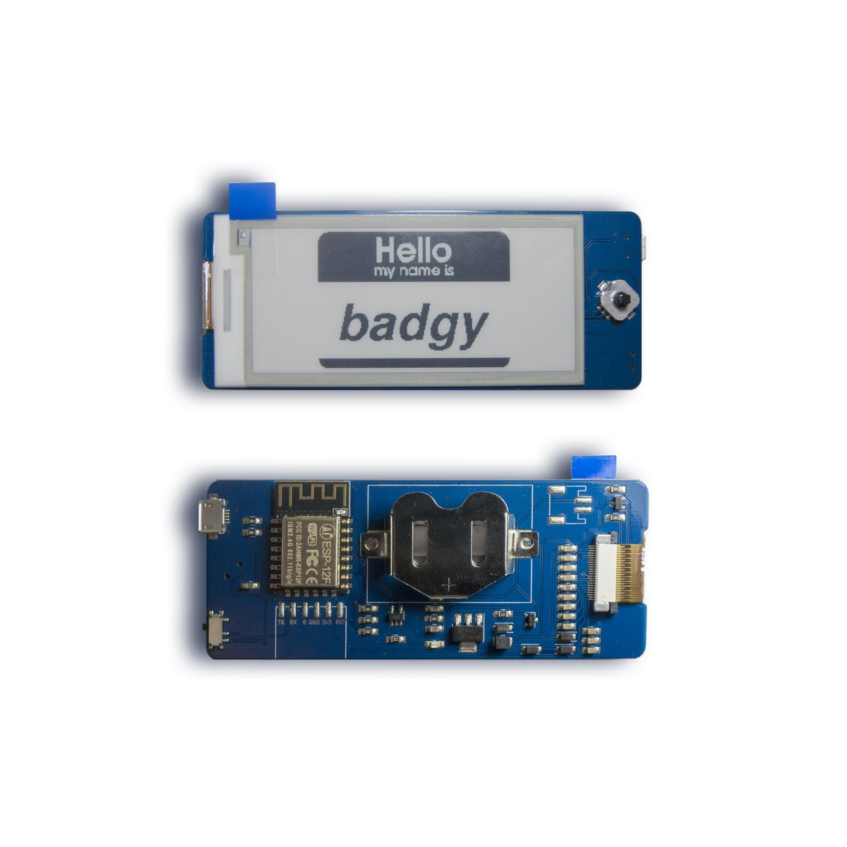 Badgy - IoT Badge from Squaro Engineering on Tindie