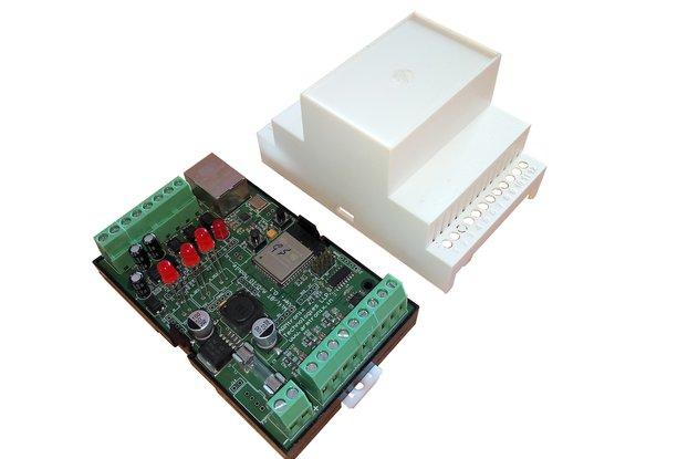 Esp32 , 3+3 I/O , 4 to 20mA Sensor ,12-24VDC Board