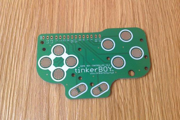 Game Boy DMG Button Controller PCB