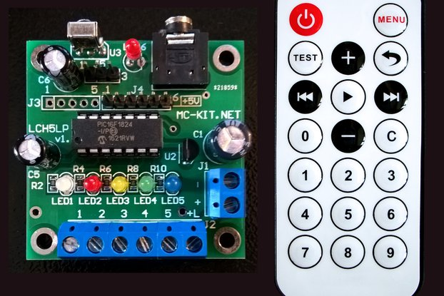 Color Organ, Light Show Controller HomLiCon LCH5LP
