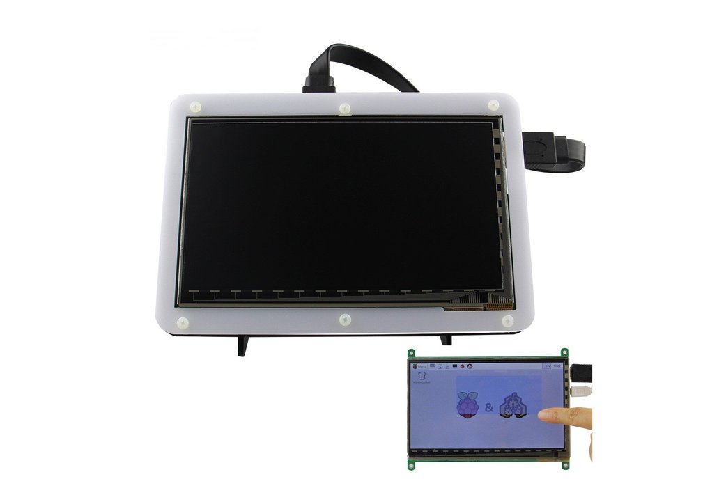 LCD HD Capacitive Touch Display With Acrylic Stand 1