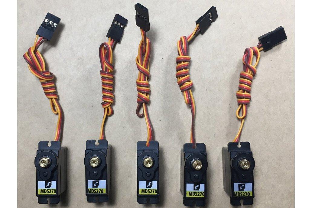 Robotic Micro Servo High Torque Wide Travel X5 1