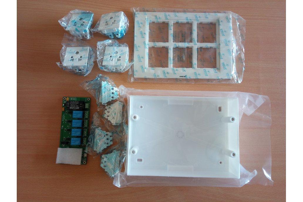 Node MCU ESP8266 WIFI board 4 Relay iot with case 11