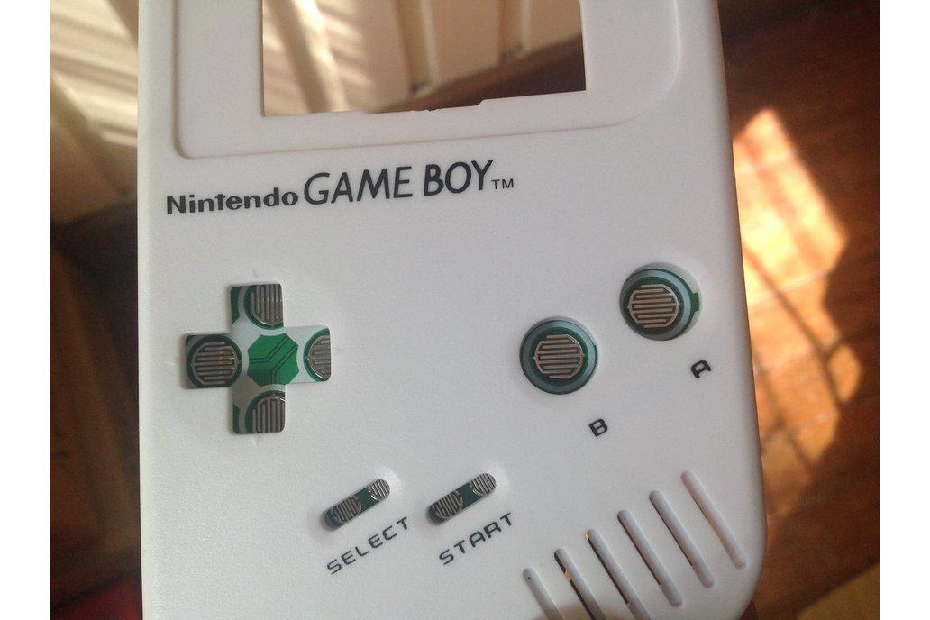 Game Boy DMG Button Controller PCB 3