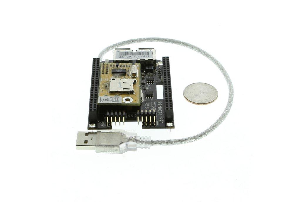 BeagleBone Black USB Expansion RS232 Module 6