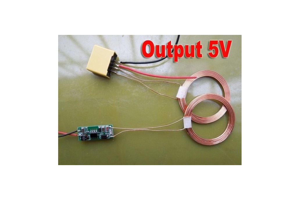 Wireless Power transfer 5V or 12V 1
