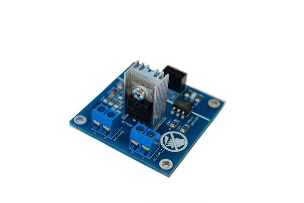 1CH AC Dimmer Module Controller Board Heatsink