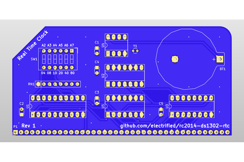 DS1302 Real Time Clock Module for RC2014 4