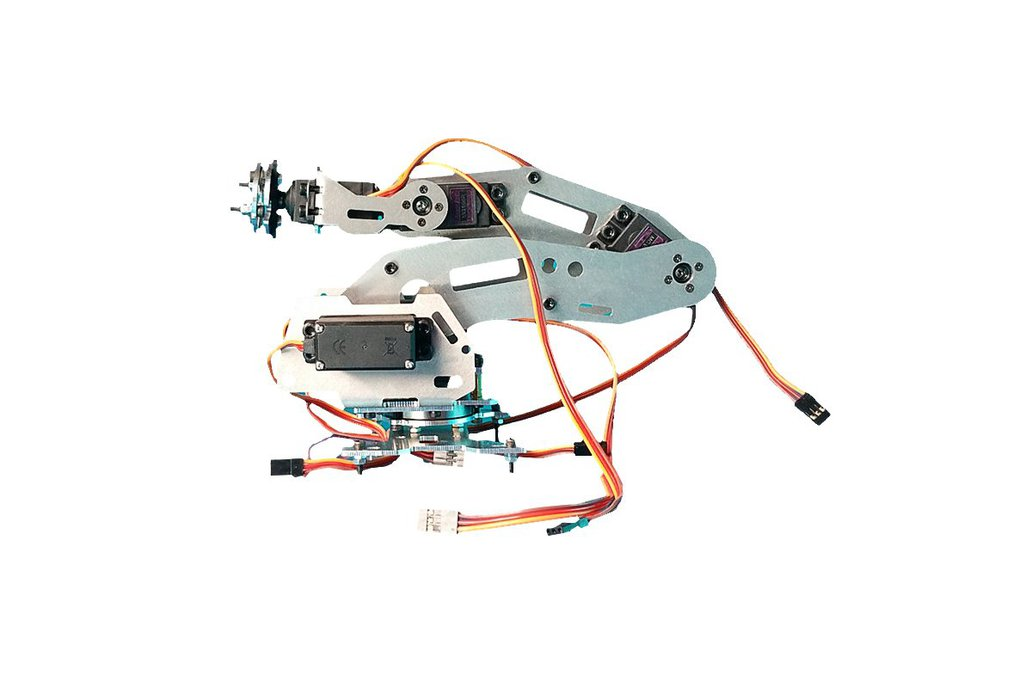 6 DoF Industrial Robot Arm Model 6