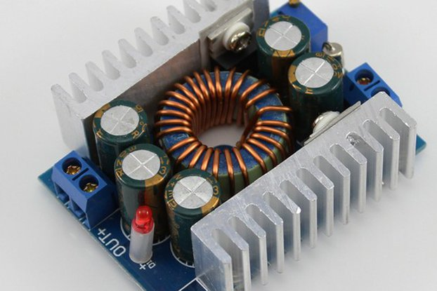 12A adjustable DC-DC step-down module