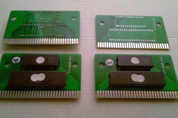 SEGA MEGA-TECH reproduction cart (blank board)