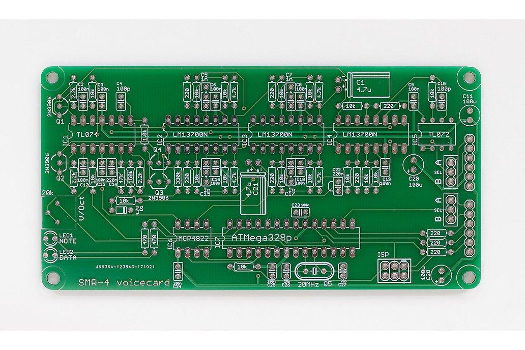 Ambika SMR4 Voicecard PCB 1