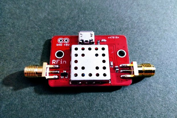 Airband Pre-Filtered LNA 118-140 MHz; Gain 20 dB;