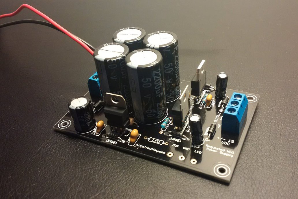 Muffsy Hifi Dual Power Supply V3 -Kit 1