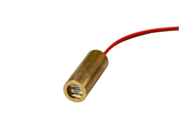 650nm 5mW 3V Red Laser Line Module Head 9
