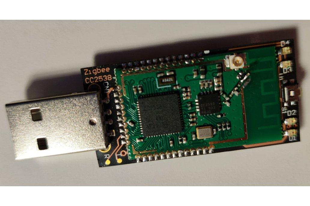 USB zigbee coordinator CC2538+CC2592 - ZB3.0 1