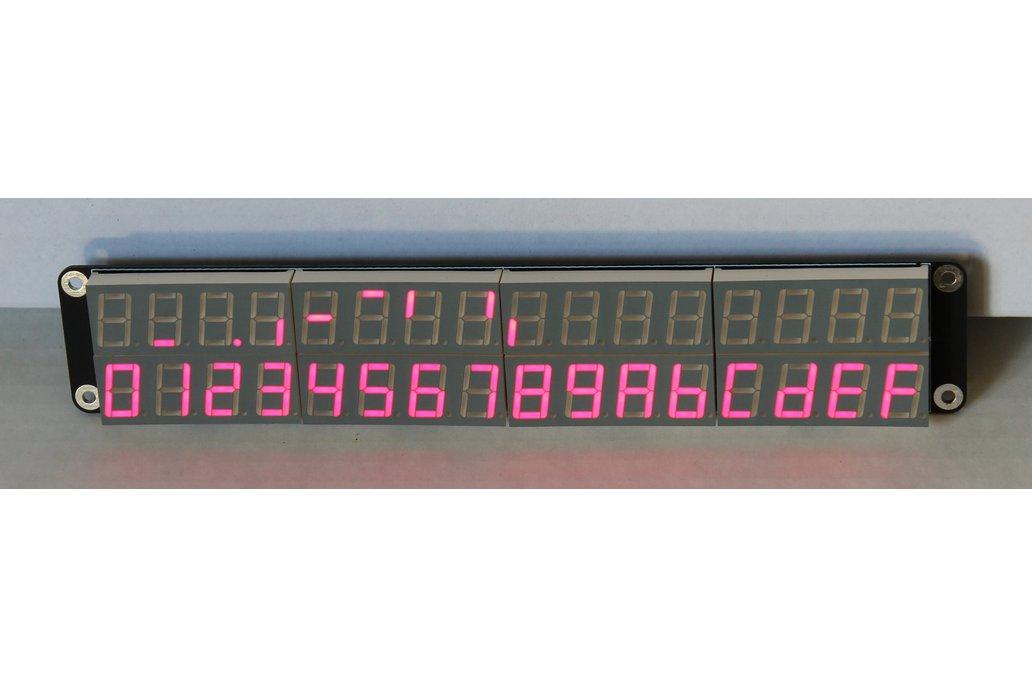 32x 7+1 Segment Display Panel 1