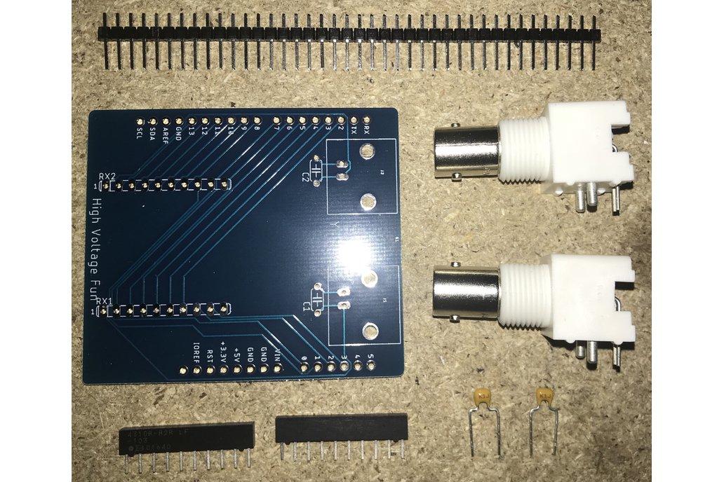 XY Oscilloscope Display Shield for Arduino 2