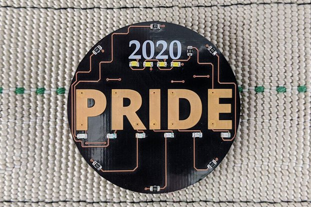 2020 Pride Electronic Pin