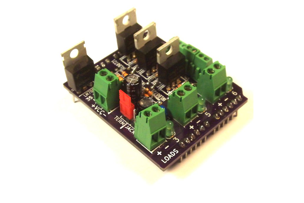 MOSFET Jr Shield Kit for Arduino 1