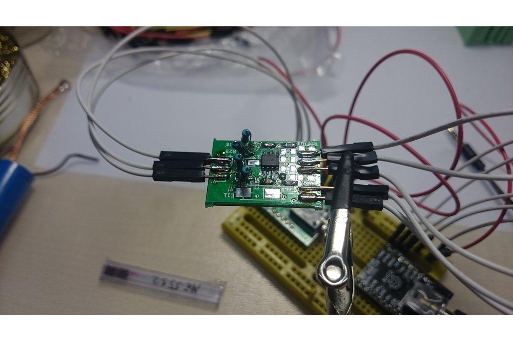 Single voltage diferential audio preamplifier 4
