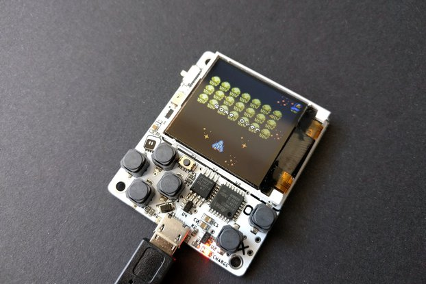 µGame 10 Python Game Console Kit