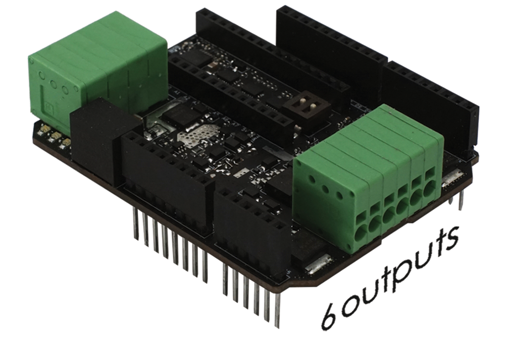 """Multi-functional """"Power Shield T800"""" for Arduino 1"""