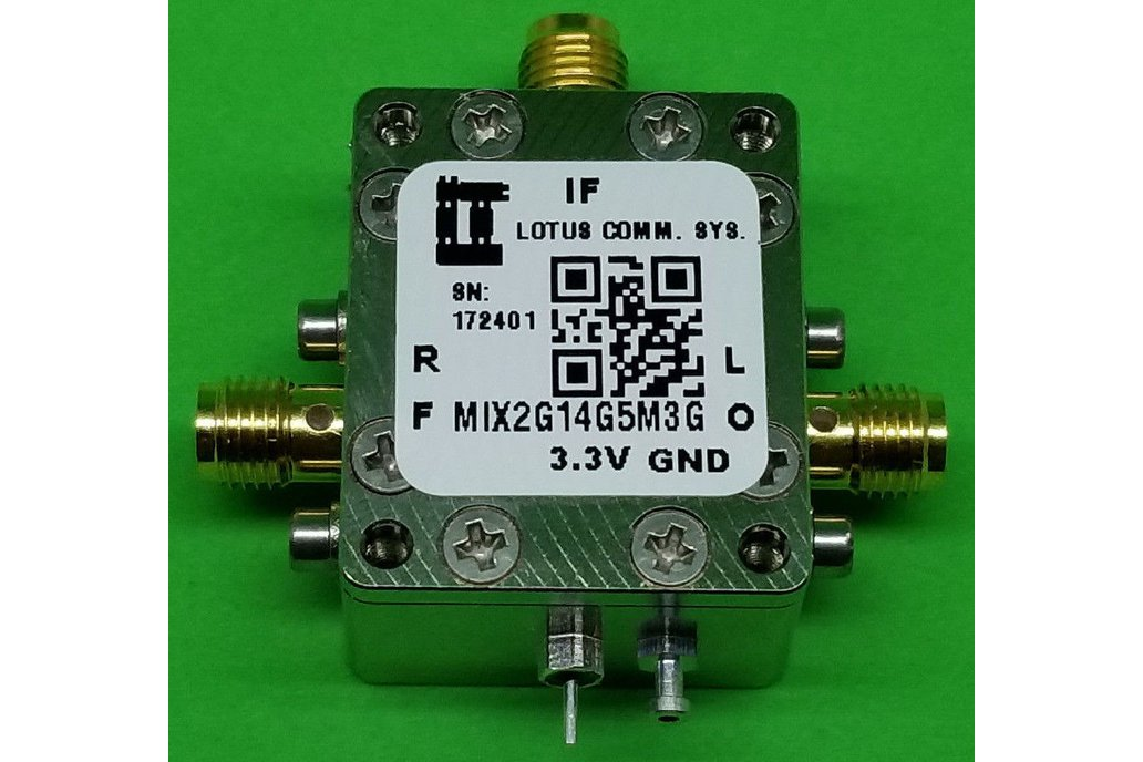 MIXER 2GHz to 14GHz RF and 4.5M - 3G IF (LTC5548) 1
