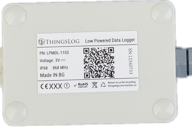 LoRa/LoRaWAN low power data logger
