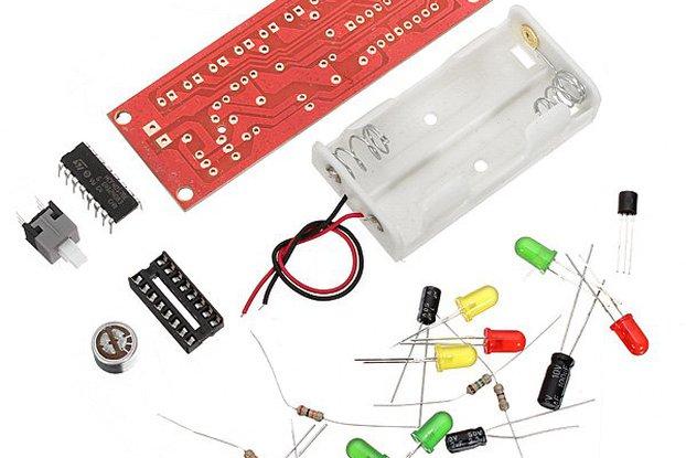 DIY Voice Control Flashing LED Kit