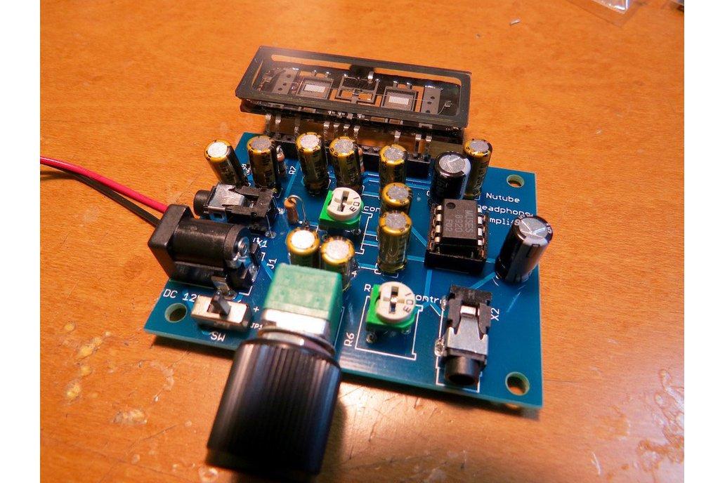 Nutube amp kit, a vacuum tube in new century REV2 3