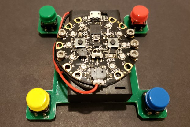 4 Button Game Kit for Circuit Playground Express