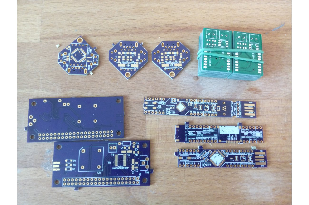 Some spare PCBs